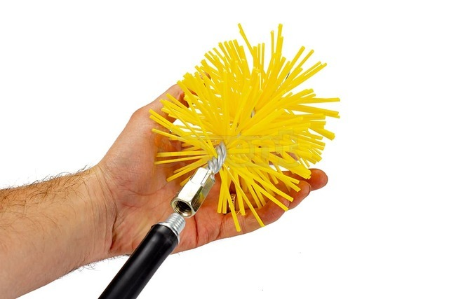 Savent 100 mm plastic brush for chimney cleaning. Фото 6