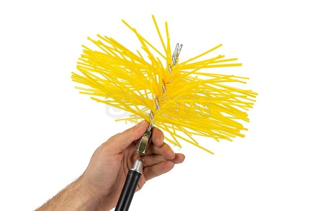 Savent 220 mm plastic brush for chimney cleaning. Фото 7
