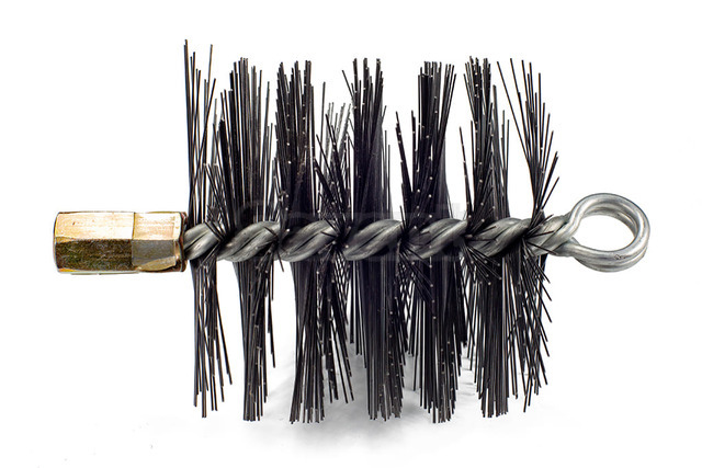 Savent 110 mm metal brush for chimney cleaning. Фото 2