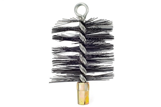 Savent 110 mm metal brush for chimney cleaning. Фото 3