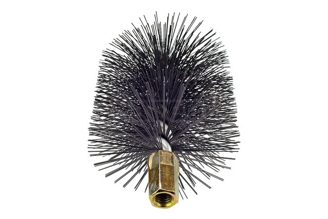 Savent 110 mm metal brush for chimney cleaning. Фото 4