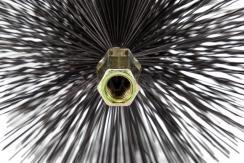 Щетка металлическая для чистки дымохода Savent 110 мм. Фото 6