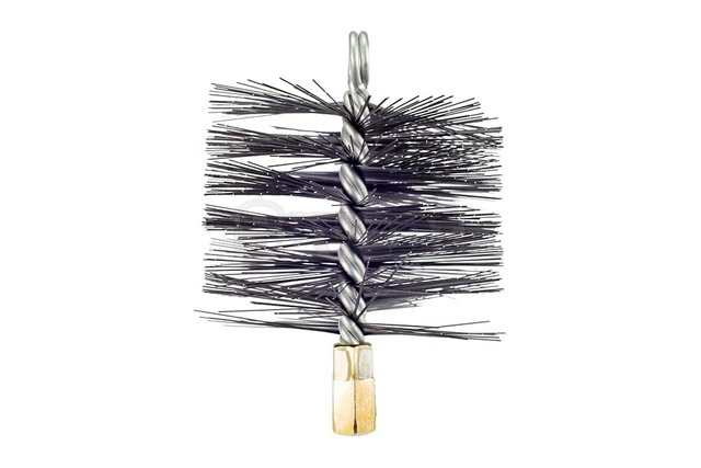 Savent 120 mm metal brush for chimney cleaning. Фото 5