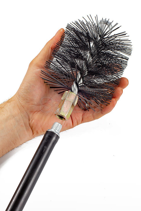 Savent 120 mm metal brush for chimney cleaning. Фото 7