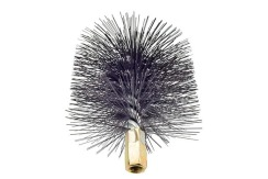 Savent 120 mm metal brush for chimney cleaning. Фото 4