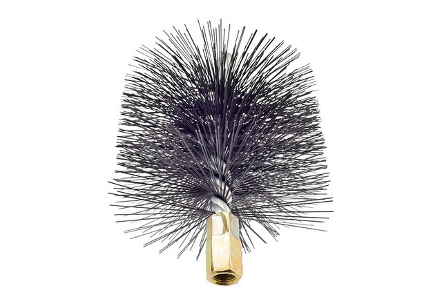 Savent 130 mm metal brush for chimney cleaning. Фото 4