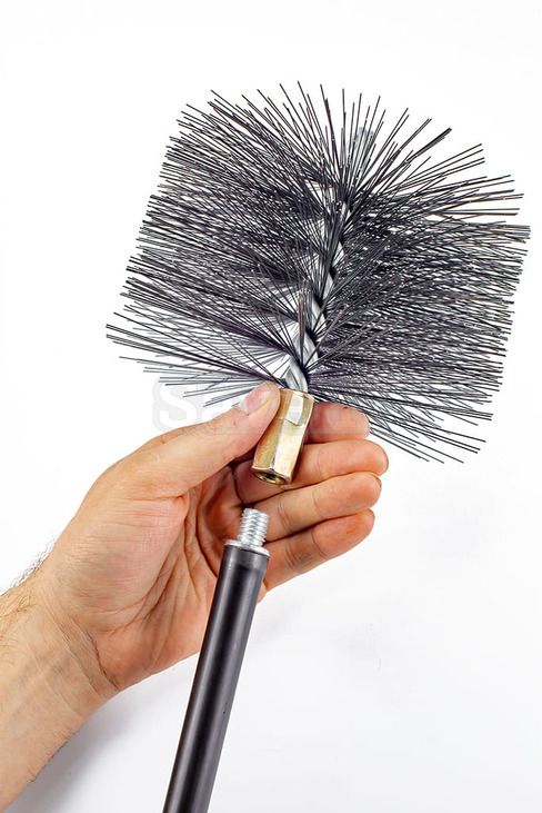 Savent 140 mm metal brush for chimney cleaning. Фото 7