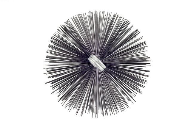 Savent 150 mm metal brush for chimney cleaning. Фото 2
