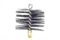 Savent 150 mm metal brush for chimney cleaning
