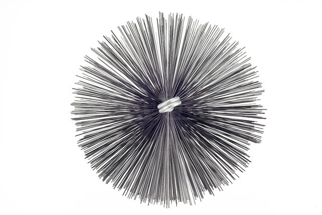 Savent 200 mm metal brush for chimney cleaning. Фото 4