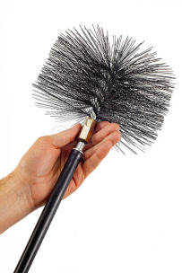 Savent 200 mm metal brush for chimney cleaning. Фото 7