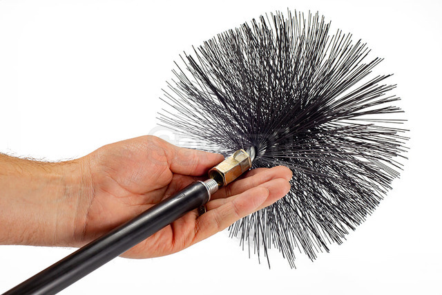 Savent 220 mm metal brush for chimney cleaning. Фото 7