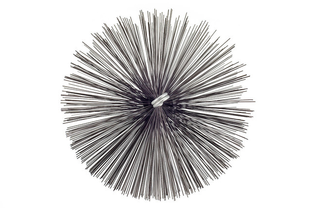 Savent 250 mm metal brush for chimney cleaning. Фото 3