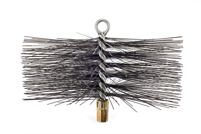 Savent 250 mm metal brush for chimney cleaning. Фото 5