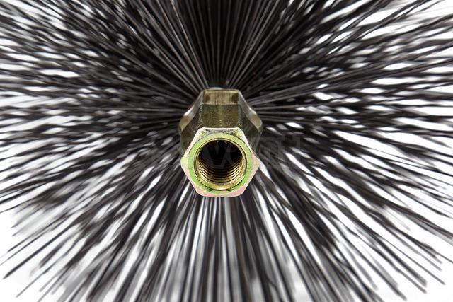 Щетка металлическая для чистки дымохода Savent 250 мм. Фото 6