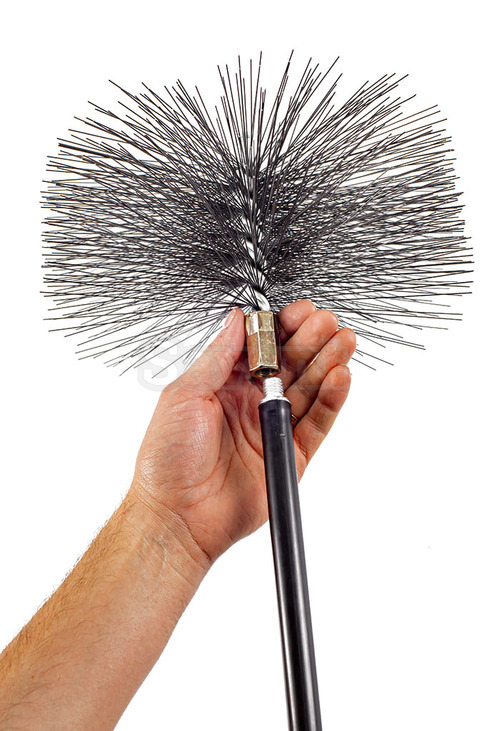 Savent 250 mm metal brush for chimney cleaning. Фото 7