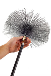 Savent 300 mm metal brush for chimney cleaning. Фото 7