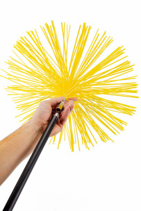 Savent 400 mm universal brush for chimney cleaning. Фото 8
