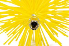 Щетка пластиковая для чистки дымохода Savent 120 мм. Фото 4