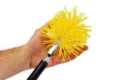 Щетка пластиковая для чистки дымохода Savent 120 мм. Фото 6