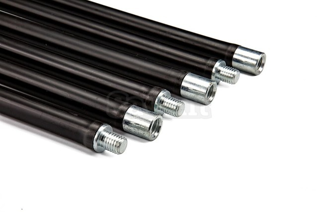 Savent 1,4 m x 6 pieces kit of flexible rods (sticks) for chimney cleaning. Фото 2