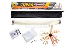 Роторний набір для чищення димоходів Savent TURBO (1 м х 9 шт)