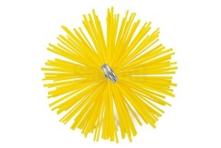 Savent 140 mm plastic brush for chimney cleaning. Фото 2